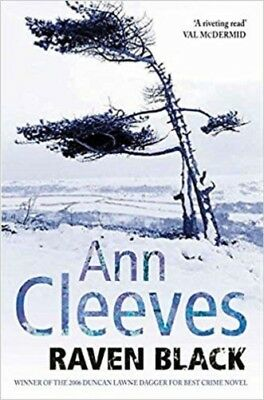 Raven Black By Ann Cleeves NEW (Paperback) Fiction Book