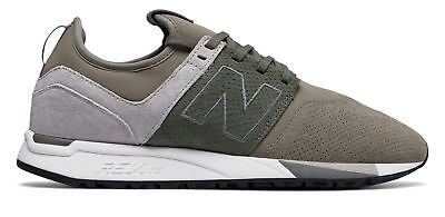 New Balance Men's 247 Luxe Shoes Tan with Grey & Grey