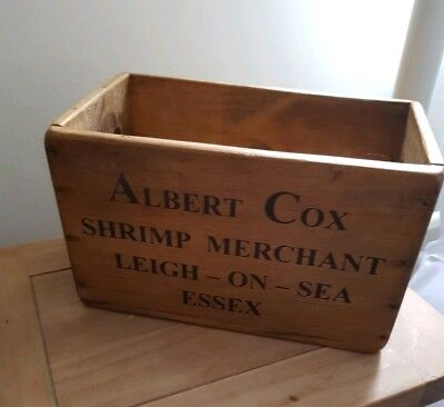 Vintage Style Trug Fish Crate Box