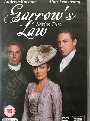 GARROW'S LAW - Series 2 2 x DVD Set Exc Cond! Complete Second Series Two