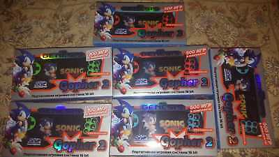 Sega Genesis Gopher II portable game console 500-700 games in NEW SEALED BOX