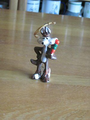 "Wilee Coyoteceramic Dave Grossman Ornament 3 1/2"" Tall"