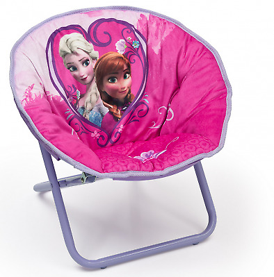 Delta Children Disney Frozen Saucer Chair, Kids Collapsible Seating Chair