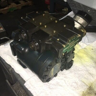 Nippon Gerotor Index Motor, # 25600191, w/ Kayaba Valves, Used, WARRANTY