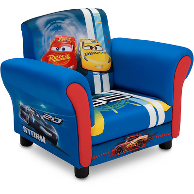 Delta Children Disney Cars 3 Upholstered Chair