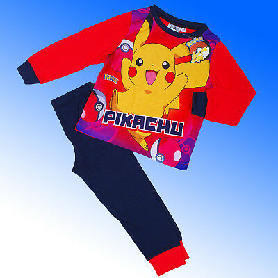 Boys Authentic Official Pokemon GO Pyjamas Age 5 - 12 Years