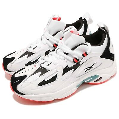 212ac3ee532 Reebok DMX Series 1200 White Black Neon Red Men Running Daddy Shoes CN7590