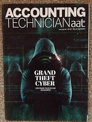 AAT Accounting Technician Magazine Mar/Apr 15 Grand Theft Cyber Issue
