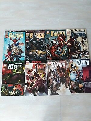 Die ruhmreichen Rächer 1-8 komplett Die Initiative, Secret Invasion, Dark Reign