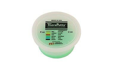(green, 56g) - CanDo TheraPutty Standard Exercise Putty, Green: Medium, 60ml
