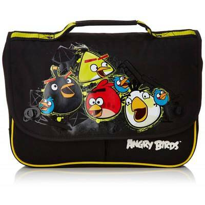 Clothing, Shoes & Accessories Bambini Rosso Angry Birds Coulisse Sportivo Scuola Palestra Borsa Angry003001