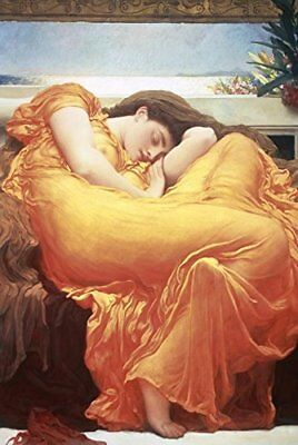 v1f79 Flaming June 1895 by Lord Frederick Leighton Old Masters reprint