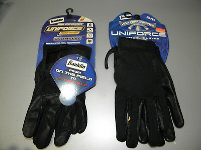 Franklin Uniforce Leather Work Gloves & Uniforce Tactical Gloves Mens Small Nwt