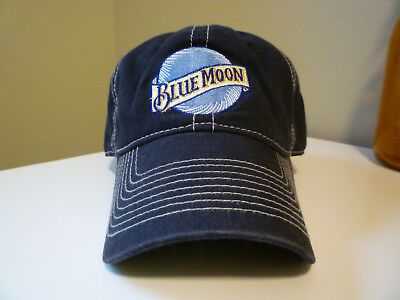Blue Moon Beer Brewing Company Promo Baseball Cap Hat