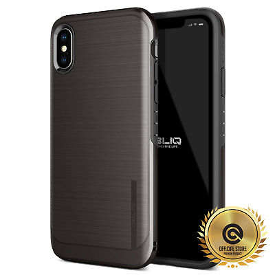 OBLIQ® iPhone XR/XS Max [SLIM META] Case Best Drop Protection Dual Layer Cover