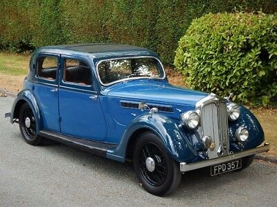 Rover 12 p2 Sportsman Extensively Restored
