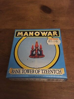 Man O'War Bane Tower of Tzeentch. Warhammer Citadel Games Workshop NIB