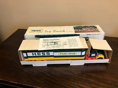 1976 Hess Gasoline Toy Truck NIB New In Box