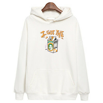 Chance The Rapper I Got The Juice Hoodie Hip Hop Acid Rap Sweatshirt merch White