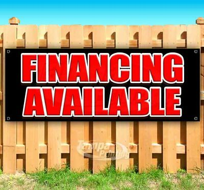 FINANCING AVAILABLE Advertising Vinyl Banner Flag Sign Many Sizes USA