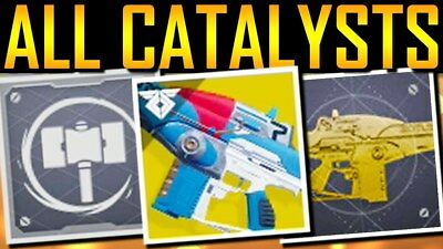 DESTINY 2 EXOTIC Catalysts (Xbox One) (CHOOSE YOUR CATALYST