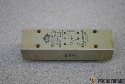 Magnecraft Reed Relay W133Mpcx-4 5945-00-422-4942 1Pdt Mercury Wetted 1000 Ohm
