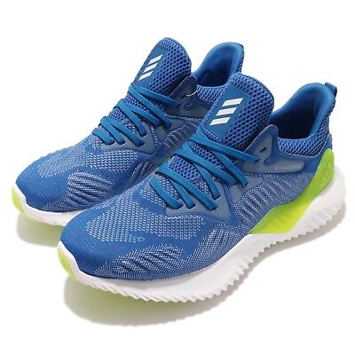 52d792da1 adidas Alphabounce Beyond J Blue White Kid Junior Running Shoes Sneakers  DB1410