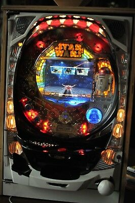 Star Wars Pachinko Machine 2004 Sankyo R2D2  Japanese Slot Arcade Game