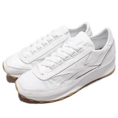 ffbf36ee613 Reebok Classic Aztec Garment And Gum White Women Street Style Shoes BD2808