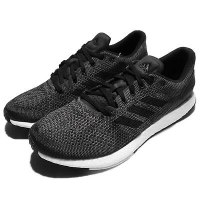 89f80067a3bcc ADIDAS PUREBOOST DPR Solid Grey Black Men Running Shoes Sneakers .