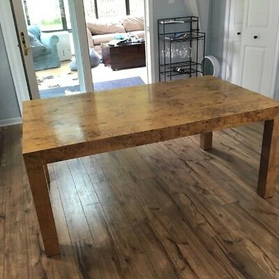 "Thayer Coggin Mid Century Modern 1970s Extend Dining Table 110"" By Milo Baughman"