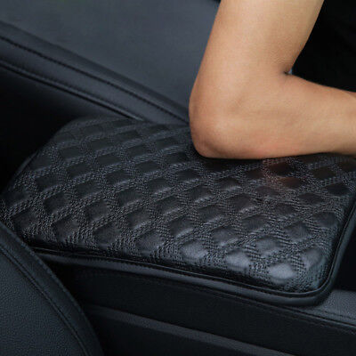 Car Armrest Pad Cover Center Console Box Cushion Leather Armrests Pads Universal