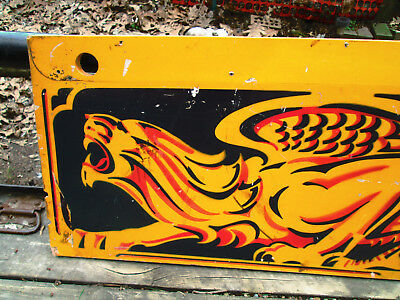 BALLY PINBALL Lost World Cabinet Side - Vintage Original - Wall Hanger or ART