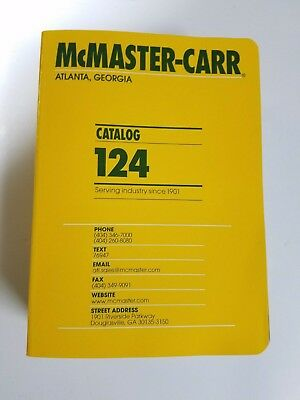McMaster Carr 124 Catalog New In Box
