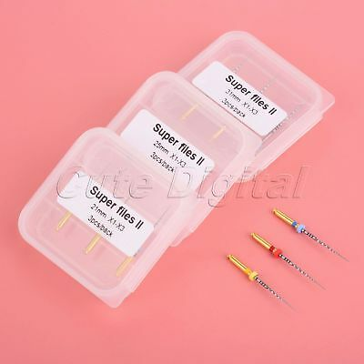21/25/31mm Dental Root Canal Files  Next Endodontic Rotary Files X1-X3