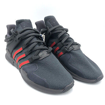 online store 861af 66c49 ... closeout adidas eqt support adv black red green mens running shoes  bb6777 size 8.5 7878e 466b7
