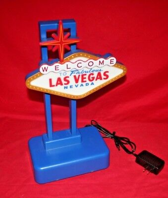Welcome to Fabulous LAS VEGAS NEVADA Flashing Novelty Light