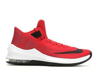 bb5e226d016 Nike AIR MAX INFURIATE 2 MID Mens University Red Blk AA7066-600 Basketball  Shoes