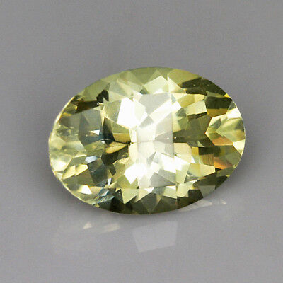 "VVS 2.8Ct Lemon Citrine ""Bright-Coloured"" Precious Faceting LH124"