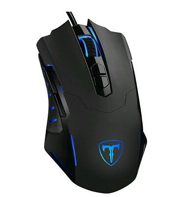 PICTEK Gaming Mouse Wired [7200 DPI] [Programmable]