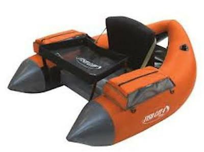 Outcast Fish Cat 4 Deluxe LCS - Burnt Orange - Float Tube