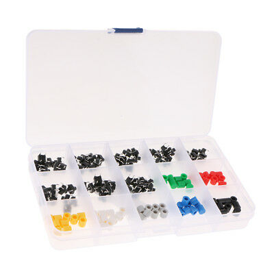 150pcs Micro Interrupteur Poussoir Bouton Tactile Commutateur