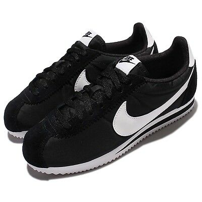 cheap for discount acdfc 89bf4 Nike Classic Cortez Nylon Black White Men Shoes Lifestyle Sneakers  807472-011