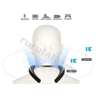 My Theater Bluetooth Neckband Wearable Speaker For PS4, TV, Game, Smartphone