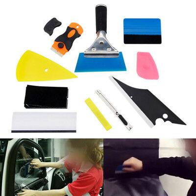 Scraper Squeegee Car Window Tint Tools Kit For Auto Film Tinting Installation