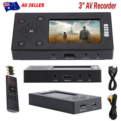AV Recorder Audio Video Converter Convert VHS/Camcorder Tapes to Digital Format