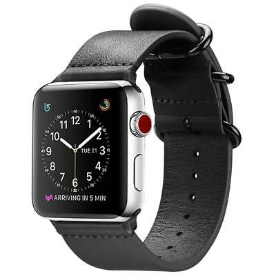 Genuine Leather Strap Bands for iWatch Apple Watch Series 4 44mm All Models