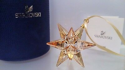 Swarovski Stern Star Ornament Golden Shadow 5064260 Neu