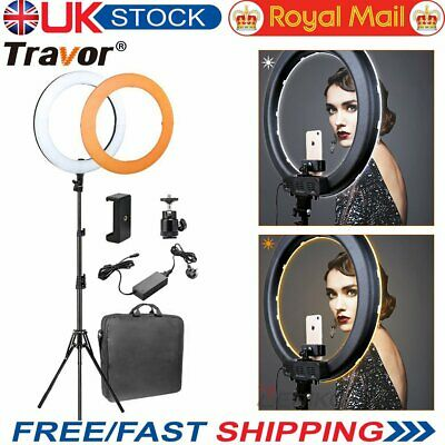 "Travor 18"" LED Ring Light Dimmable 5500K Continuous Lighting Camera Photography"