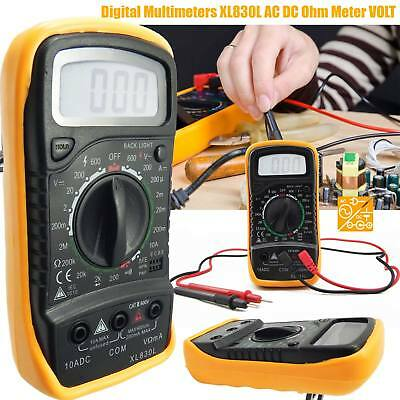 Electrical LCD Digital Multimeter DC Voltmeter Ohmmeter Multi OHM Tester AC